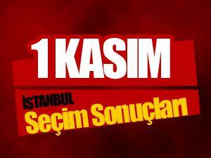 İstanbul İlçe İlçe 1 Kasım Seçim Sonuçları