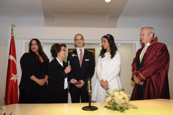 İnönü oğlu Murat Erdal İnönü'nün nikahını kıydı galerisi resim 5