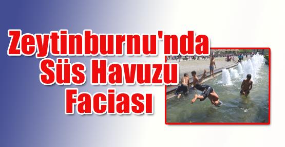 Zeytinburnu'nda Süs Havuzu Faciası
