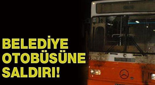 Maltepe'de İETT otobüsüne molotofkokteylli saldırı