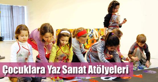 Çocuklara Yaz Sanat Atölyeleri