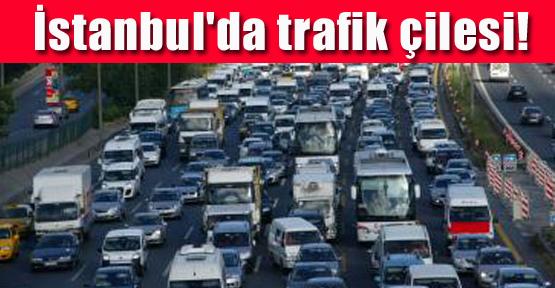 İstanbul'da Trafik Çilesi!