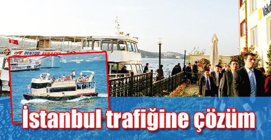 İstanbul trafiğine çözüm: Tekneli taşıma