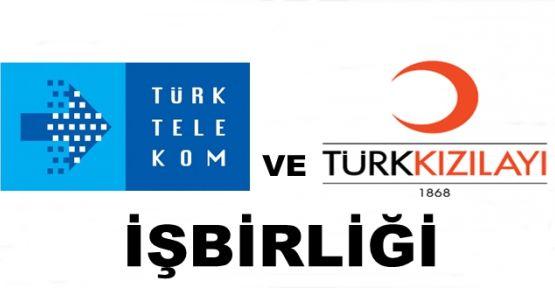 Türk Telekom ve Türk Kızılayı işbirliği