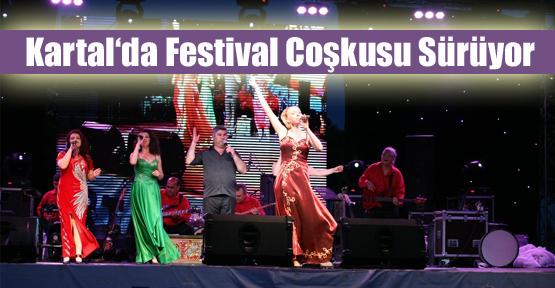 Kartal'da Festival Coşkusu Sürüyor