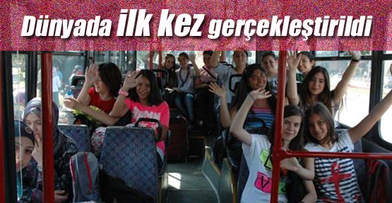 'Uluslararası Kız İzci Kampı' başladı