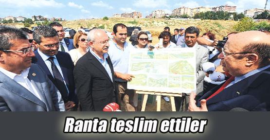 İstanbul'u ranta teslim ettiler