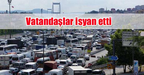 Vatandaşlar isyan etti