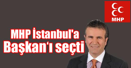 "MHP İstanbul'a ""Başkan"" seçildi"