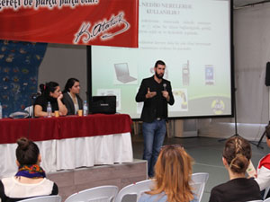 Atık piller konusunda öğretmenlere seminer düzenlendi