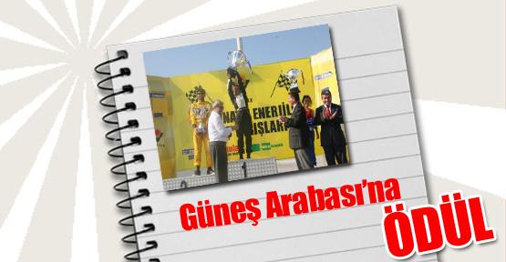 İstanbul Aydın Üniversitesi'nin 'Güneş Arabası'na Ödül