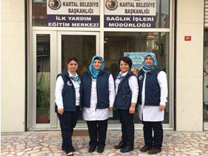 Kartal Belediyesi' nde sağlık eğitimleri devam ediyor