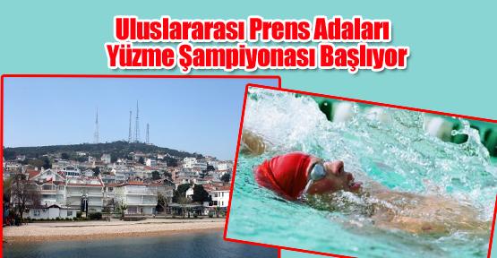 Uluslararası Prens Adaları Yüzme Şampiyonası Başlıyor