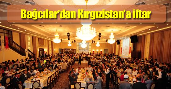 İftar sofrası Kırgızistan'da kuruldu