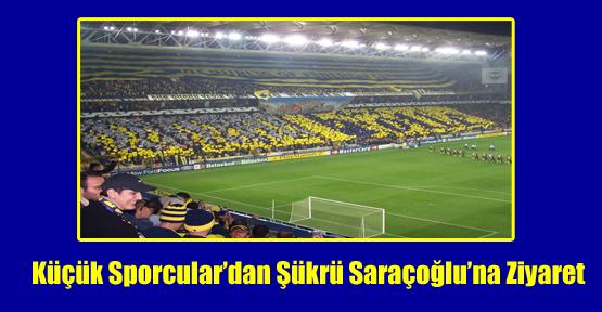 Küçük Sporcular'dan Şükrü Saraçoğlu'na Ziyaret