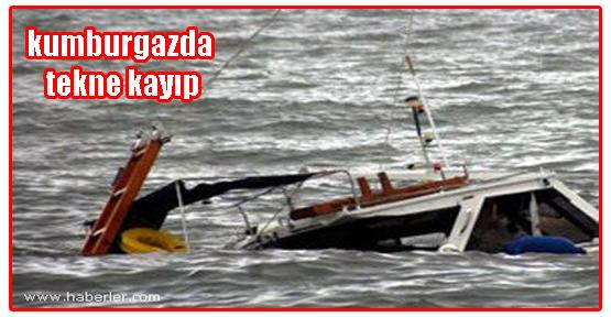 İstanbul kumburgaz'da 5 kişinin bulunduğu tekne alabora oldu