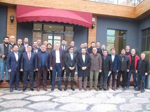 Başkan Poyraz Çekmeköy Bld. Alemdağspor'un yeni yönetimini ağırladı