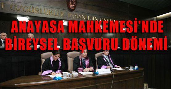 Anayasa Mahkemesine Bireysel Başvruru Yapılabilecek