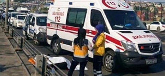 Haliç'te Trafik Kazası Ölümle Sonuçlandı..!