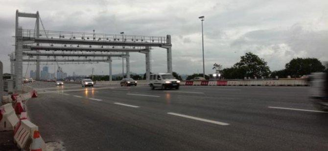 15 Temmuz Şehitleri Köprüsünden Gişeler Kaldırıldı..!