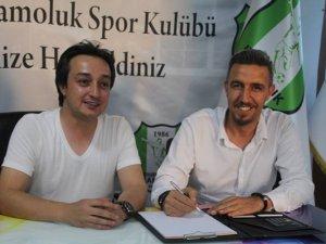 Ataşehir Çamolukspor'un yeni hocası belli oldu