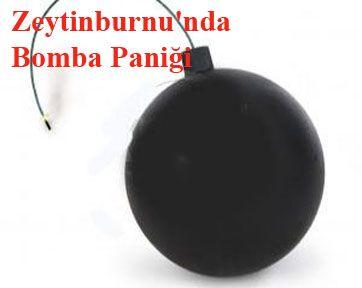 Zeytinburnu'nda Bomba Paniği