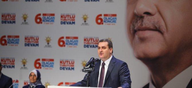 Ak Parti Şişli'nin 6'ncı Olağan Genel Kurulu'na yoğun katılım