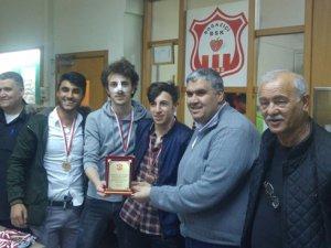 Boğaziçispor şampiyonluğu kutladı