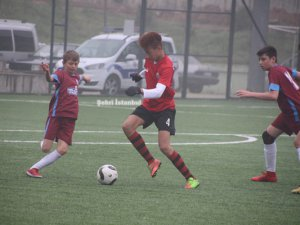Trabzon Samandıraspor farkını gösterdi
