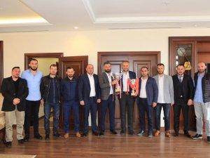 1877 Alemdağspor'dan Başkan Poyraz'a ziyaret