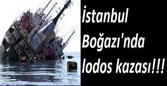 İstanbul'da Lodos Kazası