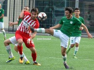 Vefa-Maltepe maçında golsüz eşitlik