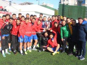 Atlasspor Şampiyonluk Kupasını aldı