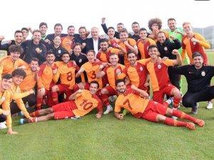 U21 Ligi'nde şampiyon Galatasaray oldu