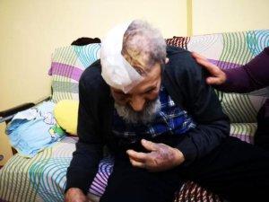 Şişli'de 94 yaşındaki Mevlüt Günbe evinde darp edildi