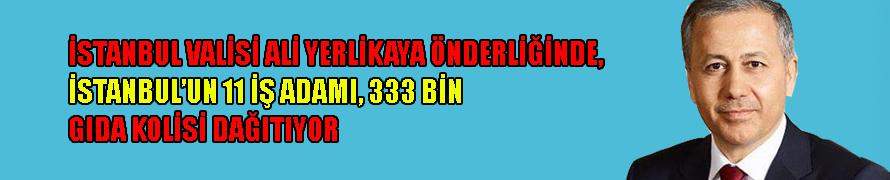 İstanbul'un 11 iş adamı, 333 bin gıda kolisi dağıtıyor