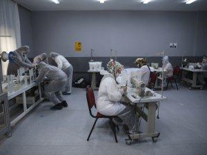 Lisede günde 100 bin cerrahi maske üretiliyor!