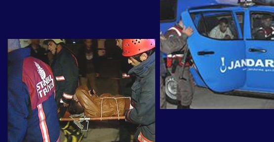 Zeytinburnu'nda dereye düşen genç boğulmaktan son anda kurtarıldı