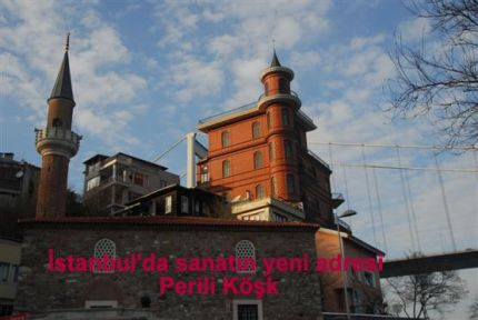 İstanbul'da sanatın yeni gözdesi Perili Köşk