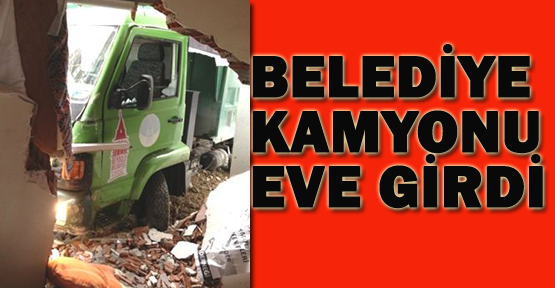Beyoğlu'nda belediye aracı evi yıktı: 3 yaralı