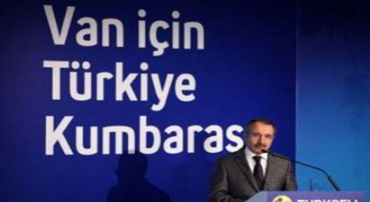 """""""Van İçin Türkiye Kumbarası"""""""