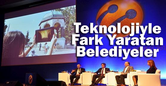 Teknolojiyle fark yaratan belediyeler