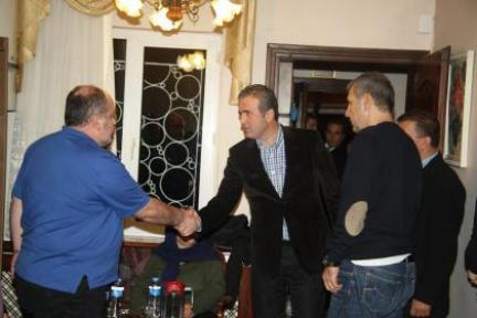 Başkan'dan Yazgan ailesine başsağlığı