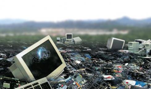İstanbul e-atık çöplüğü