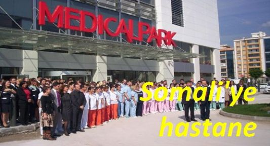 Medical Park'tan Somali'ye Yardım