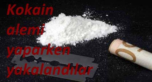 Kokain Alemi Yaparken