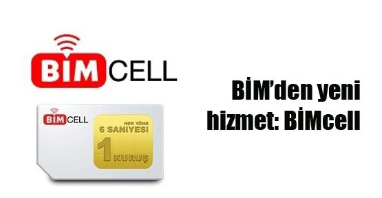 BİM'den yeni hizmet: BİMcell