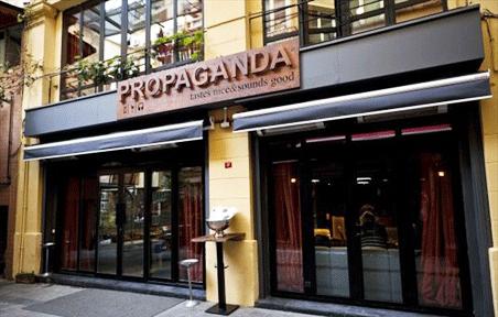 İstanbul eğlence hayatına yeni bir soluk Propaganda