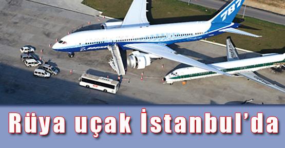 Rüya uçak İstanbul'da