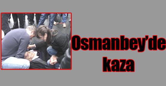 Osmanbey'de kaza